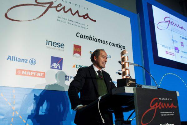 """SegurosVeterinarios.com received """"GEMA AWARDS 2018"""" during last INSURANCE WEEK 2018"""