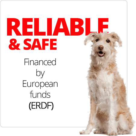 RELIABLE & SAFE Financed by European funds (ERDF)
